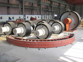 Cement mill parts