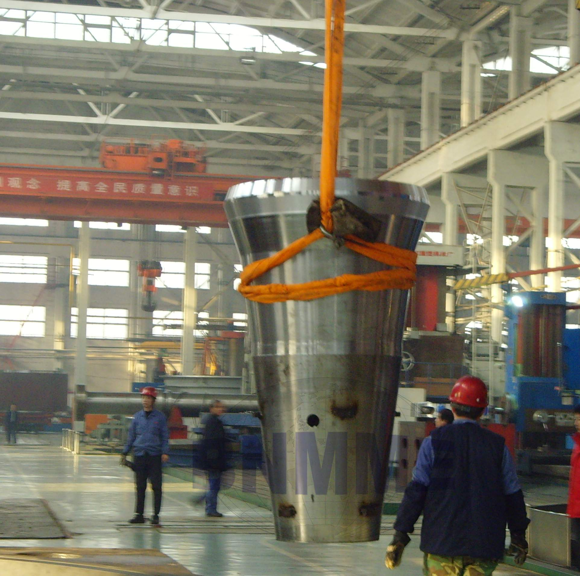 main shaft and eccentric sleeve assembled for cone crusher