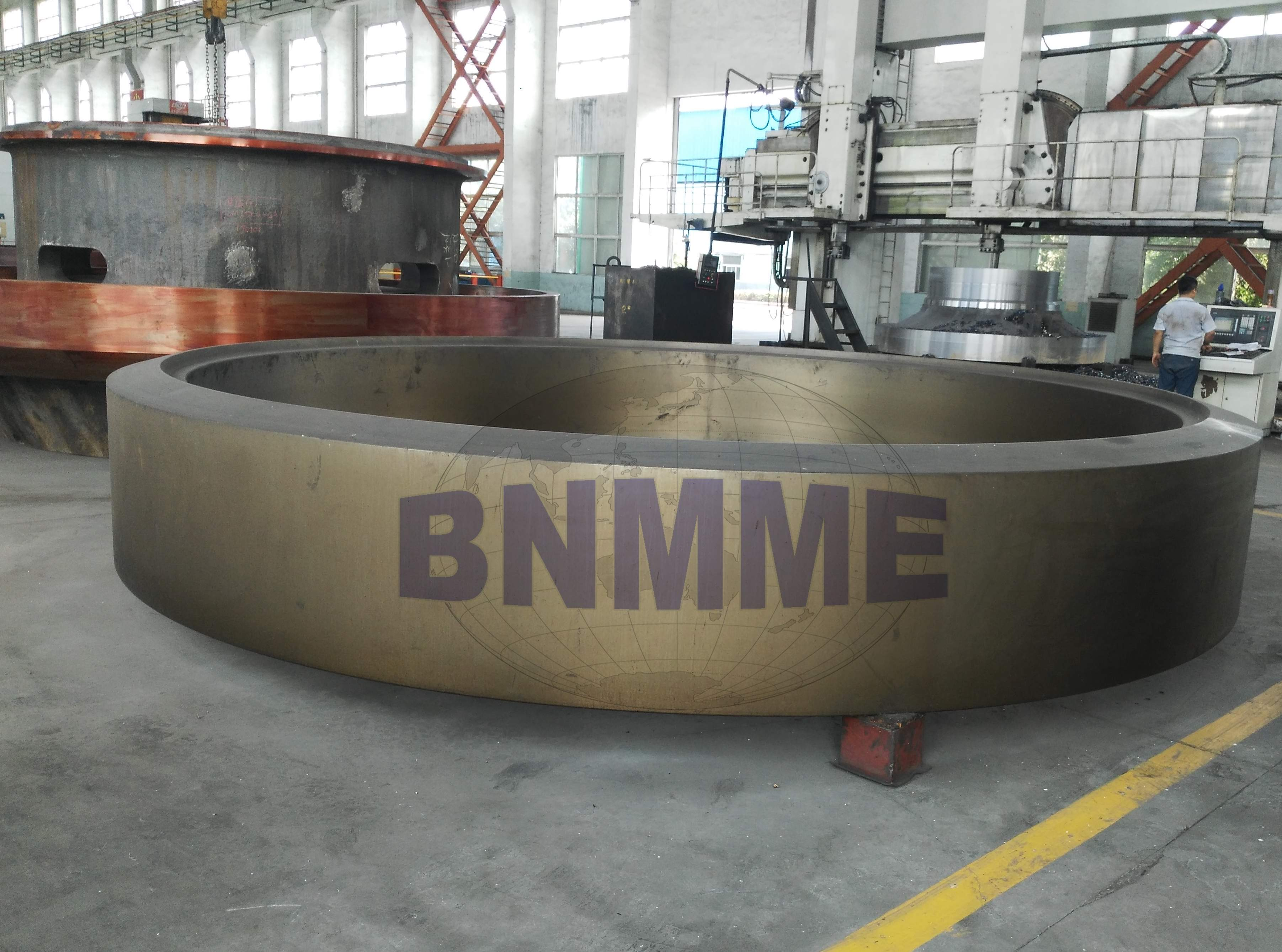 BNMME heavy forging and casting products,cement tyre and cement shell for cement plant
