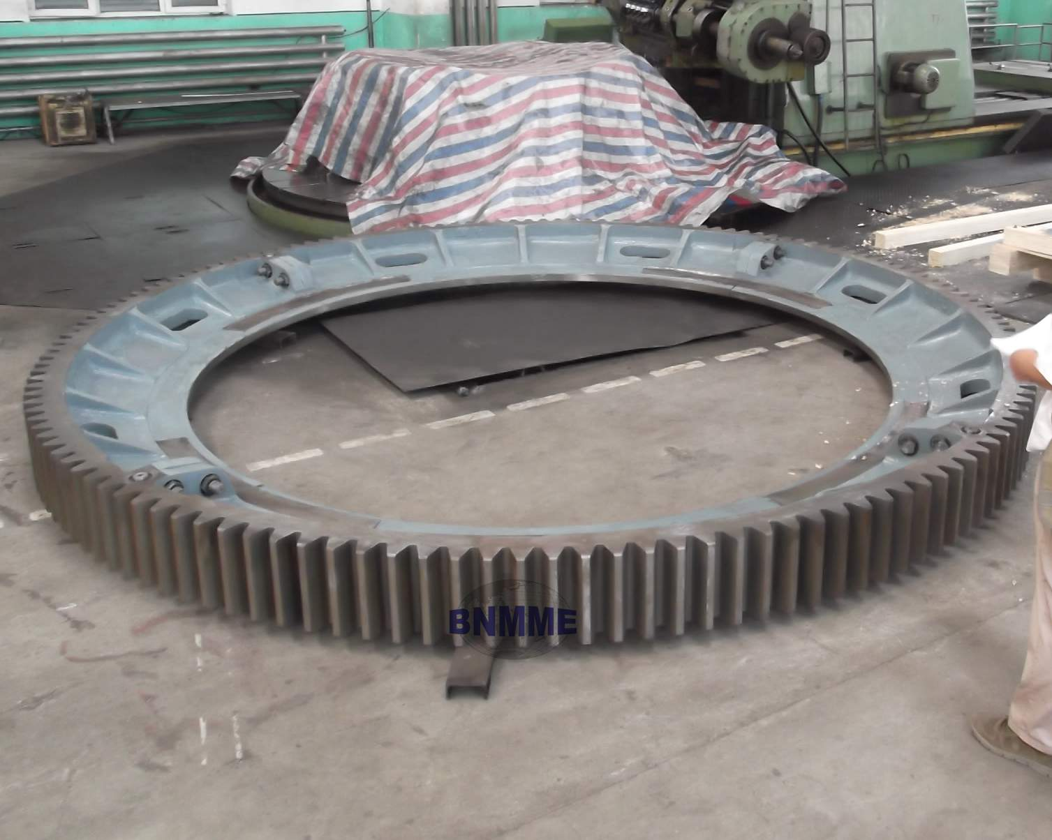 BNMME girth gear for mining, cement and crusher